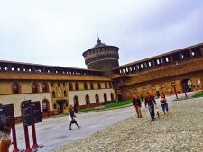 Castello Sforzesco castle.